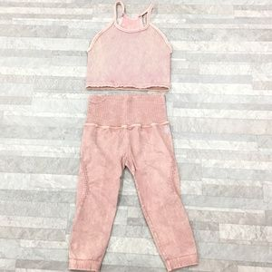 New Free People Movement Happiness Karma 2PC Set